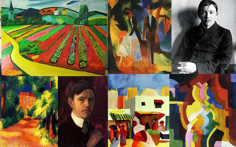 Artista das vanguardas alemãs August Macke.