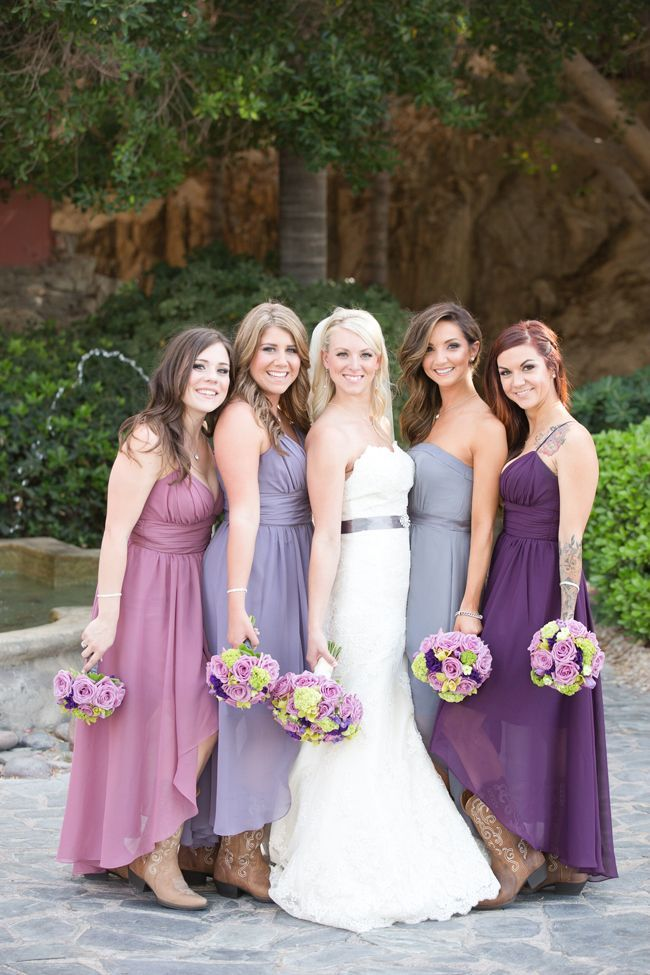 Etc These Colors All Work Well For Bridesmaid Dresses Weddings Browns Grays And Tans Are Not Popular Options Due To Their Dull Tones
