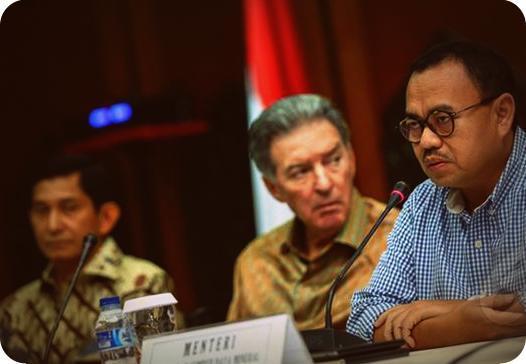 PTFI Tagih Janji Sudirman Said