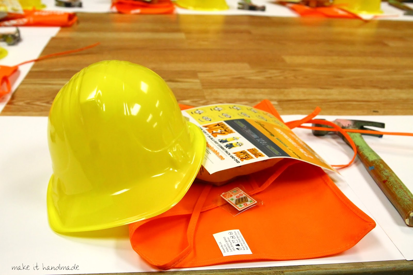 Bob The Builder Home Depot Birthday Party