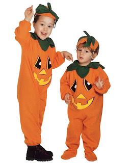 Halloween Kostume Græskar dragt