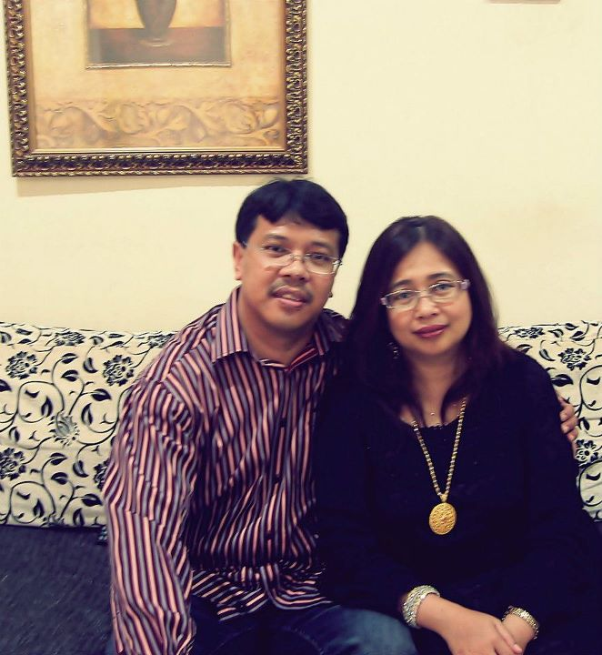 Dad and Mom :D
