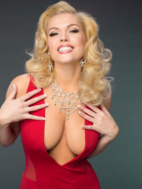 the late 'Playboy Playmate' Anna Nicole Smith aka 'Vickie Lynn Hogan