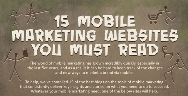 15 Mobile Marketing Websites you Must Read – #Infographic