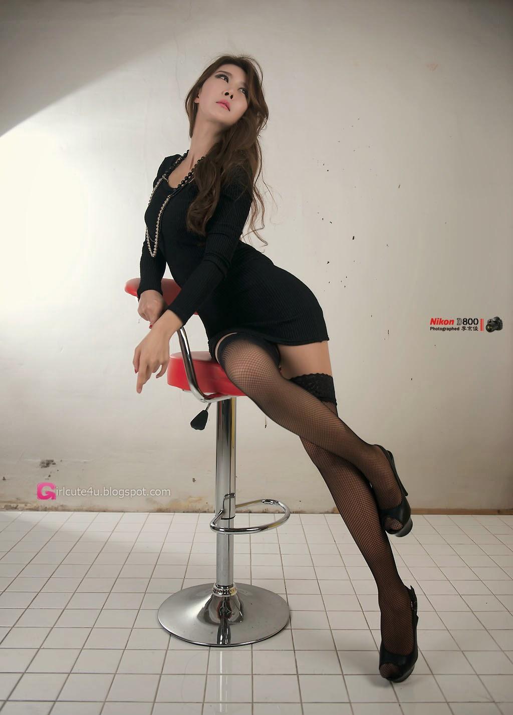 3 Park Hyun Sun - Studio Photo Shoot, 3 Different Outfits - very cute asian girl-girlcute4u.blogspot.com