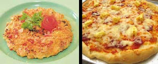 Kerak Telor vs Pizza