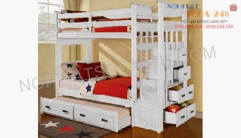 Giường tầng GT003