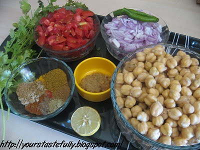 kabuli chana masala. 2 cups kabuli channa (chick