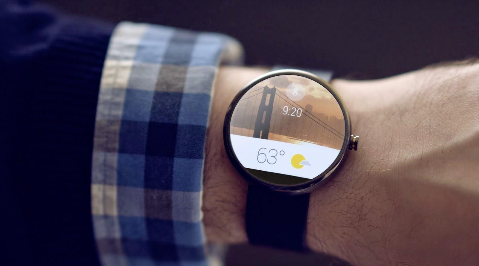 """""""Android Wear"""" Android masa depan."""