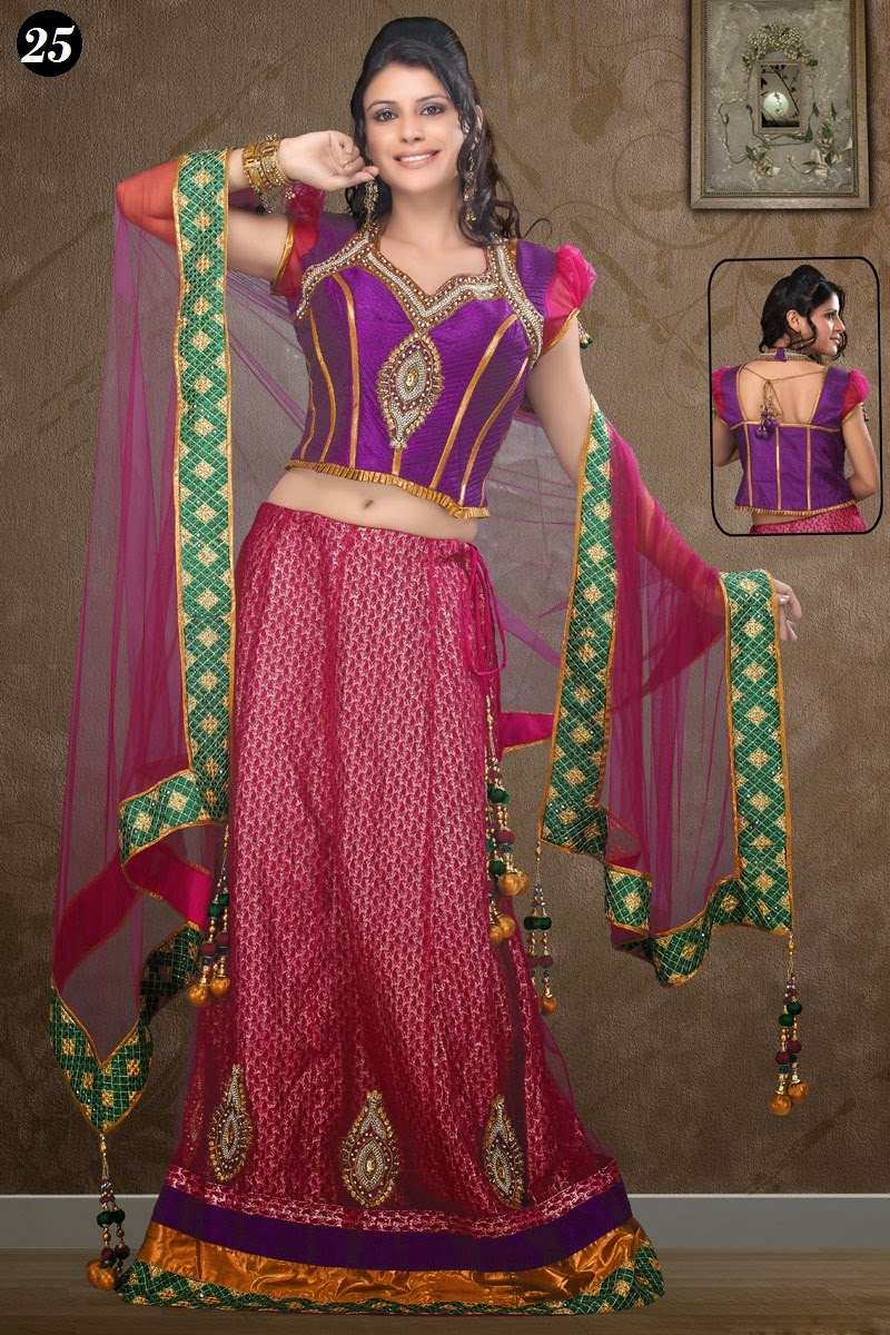 Ghagra Choli Blouse Patterns 32