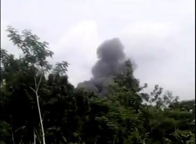 Video Amatir Pesawat T50 Yang Jatuh Saat Latihan Di Bandara Adi Sutjipto Yogyakarta