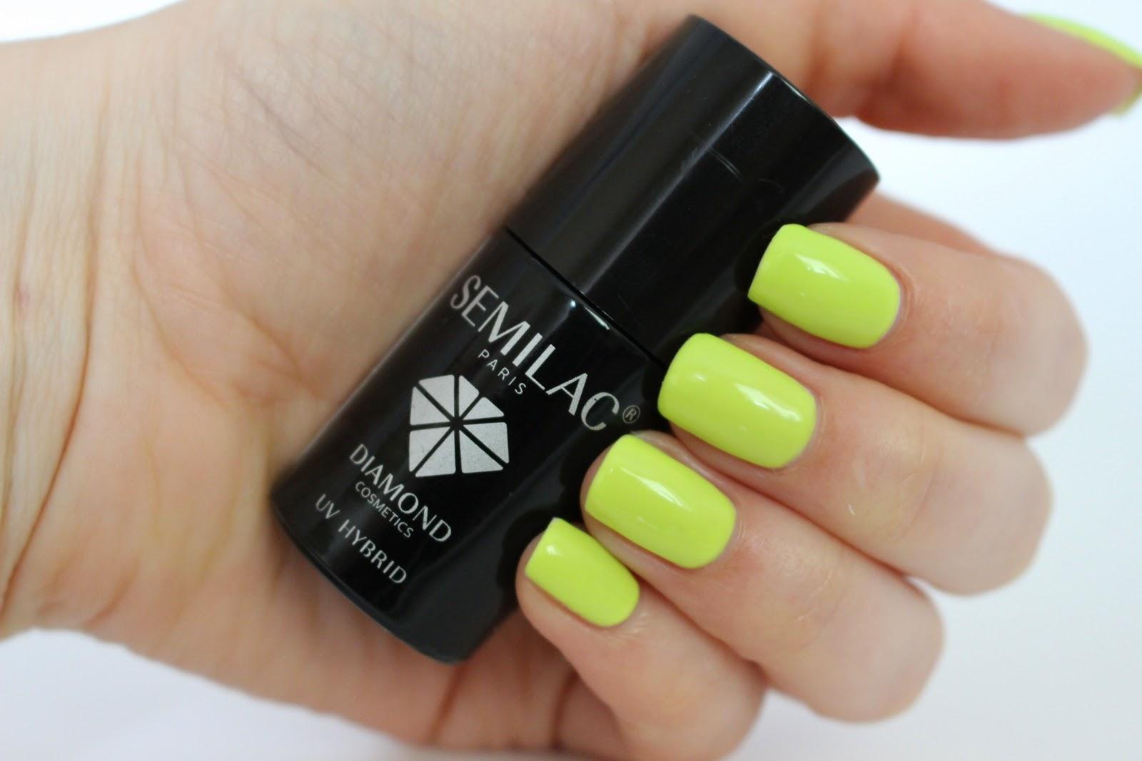 Lakier hybrydowy Semilac 143 Fresh Lime