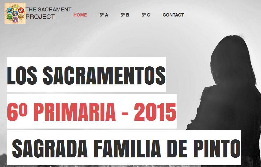 Proyecto sobre Los Sacramentos