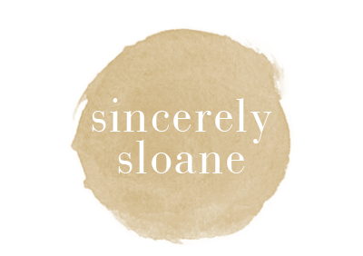 sincerely sloane