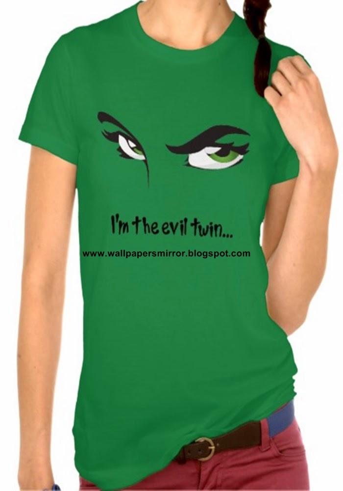 Top 10 girls funny t shirts sri krishna wallpapers for Girls in t shirts