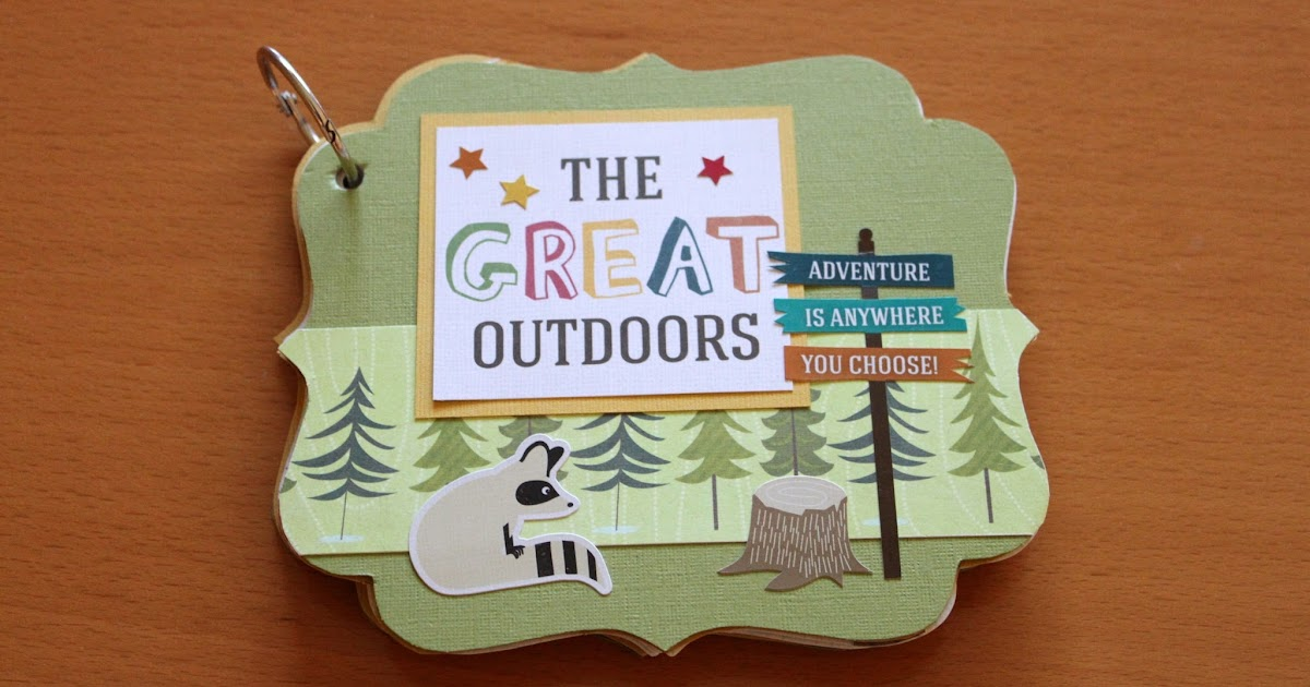 lindasueanne scraps the great outdoors mini album