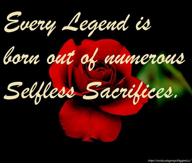 legend quotes darkness