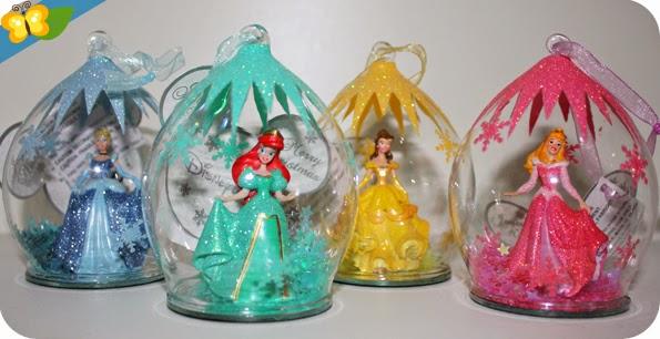 Nos boules de Noël princesses Disney