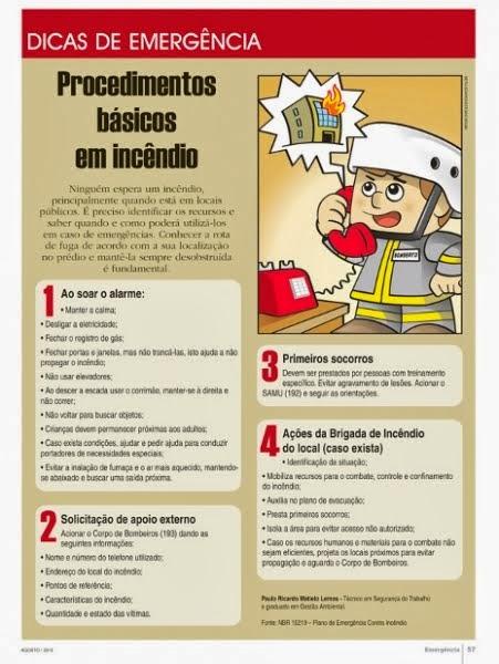 Incêndio O que Fazer? Revista Emergencia