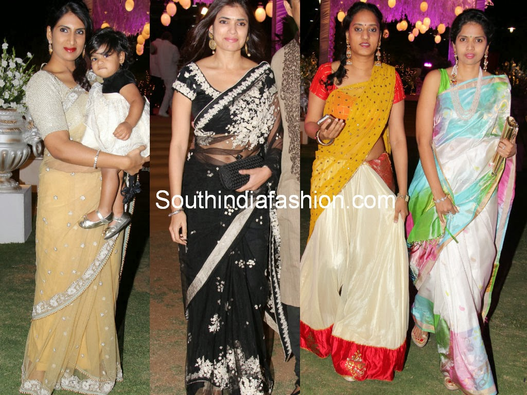 celebrities at sabitha indra reddy son's marriage