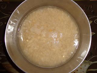 soaking oats