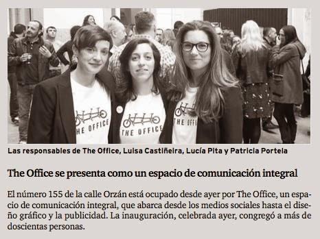 The Office, comunicación integral. La Coruña