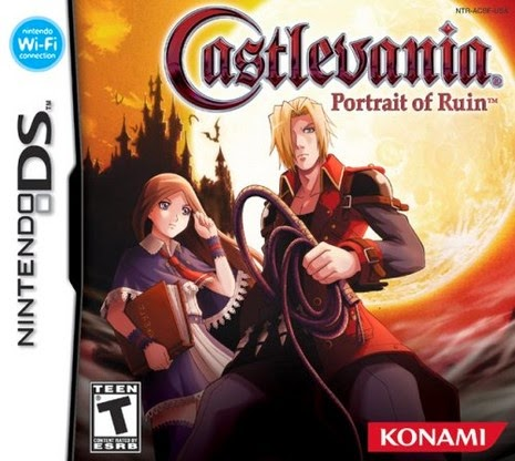 castlevania portrait of ruin nds cover