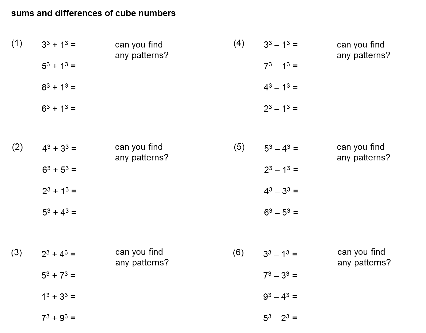 Median don steward mathematics teaching sum and difference of two students will need to be able to form a quadratic general rule after a factor has been extracted for their results with probably a few other examples ccuart Image collections