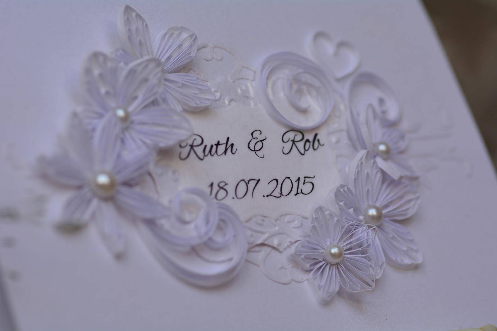 Квиллинг открытки к свадьбе 79