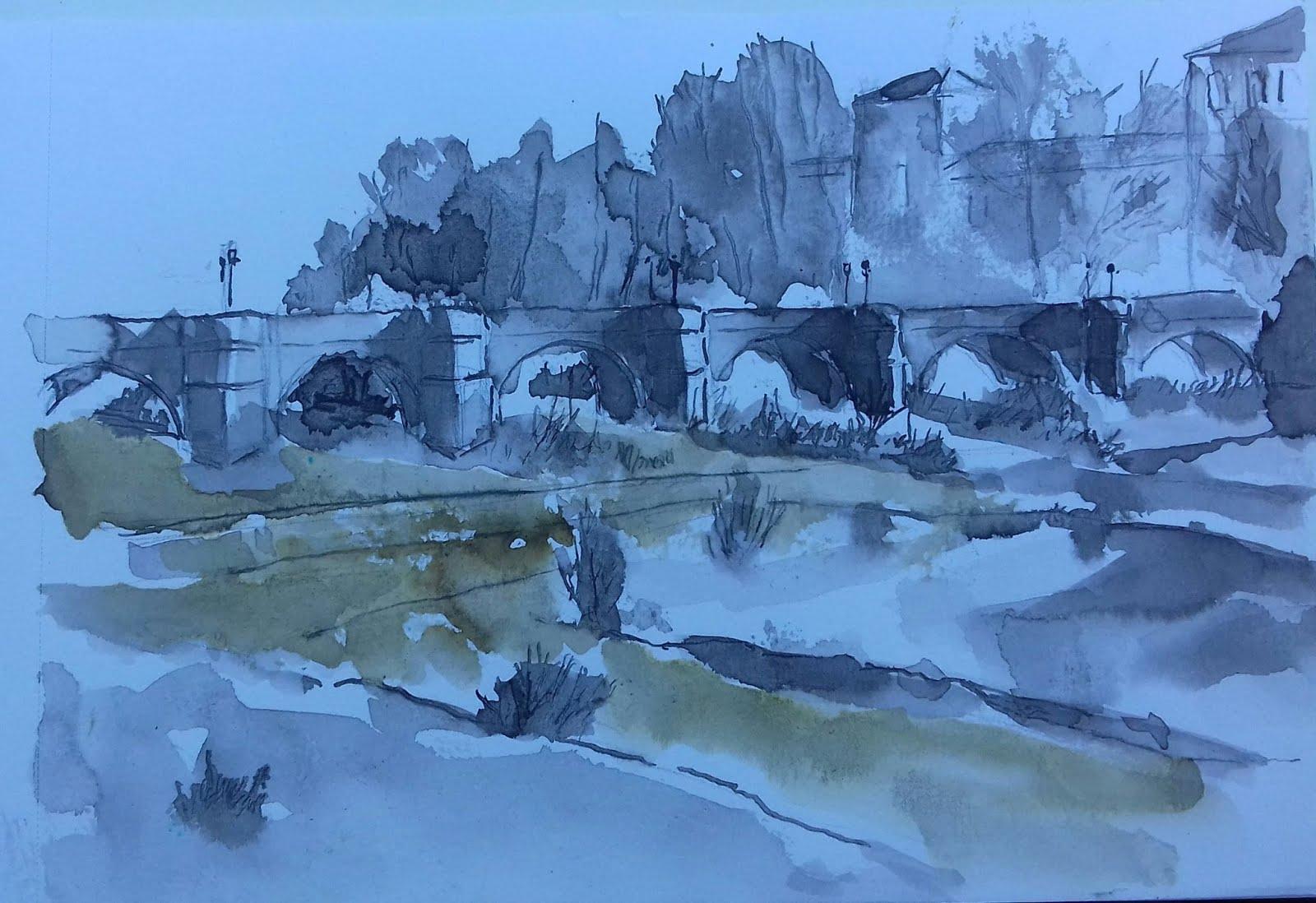 Puente de San Marcos sobre el río Benega en León