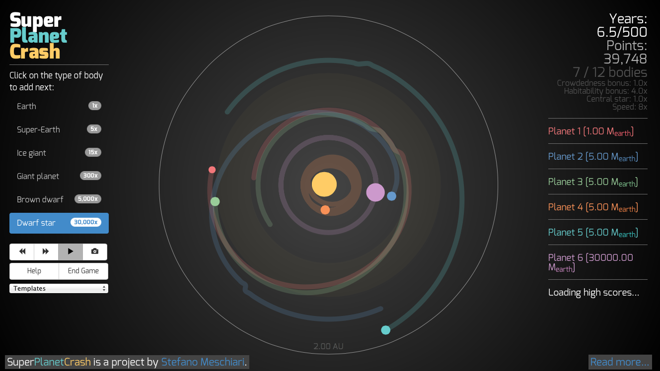 This Game Lets You Build Or Destroy Your Own Solar System ...