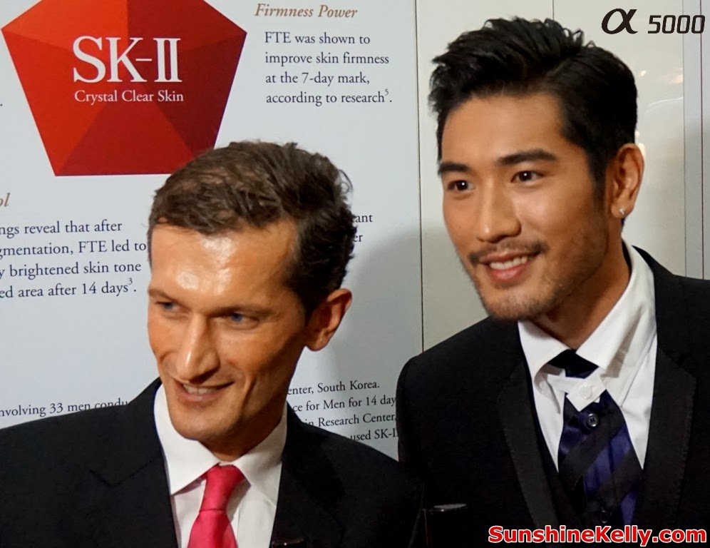 Godfrey Gao, SK-II Crystal Clear Skin No Compromise, SK-II, Godfrey Gao SK-II ambassador, sk2, Nicholas de La Giroday, Country CEO P&G Malaysia Singapore