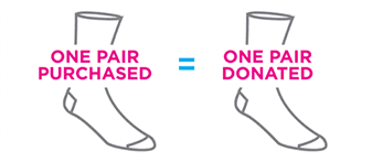 Bombas socks donation