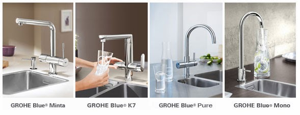 innovative water systems for home and office from grohe. Black Bedroom Furniture Sets. Home Design Ideas