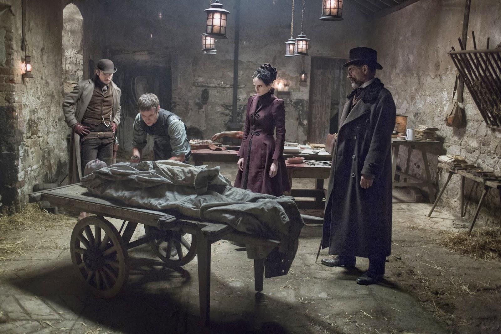 penny dreadful, vampiros, victoriano, John logan, el zorro con gafas, harru treadaway