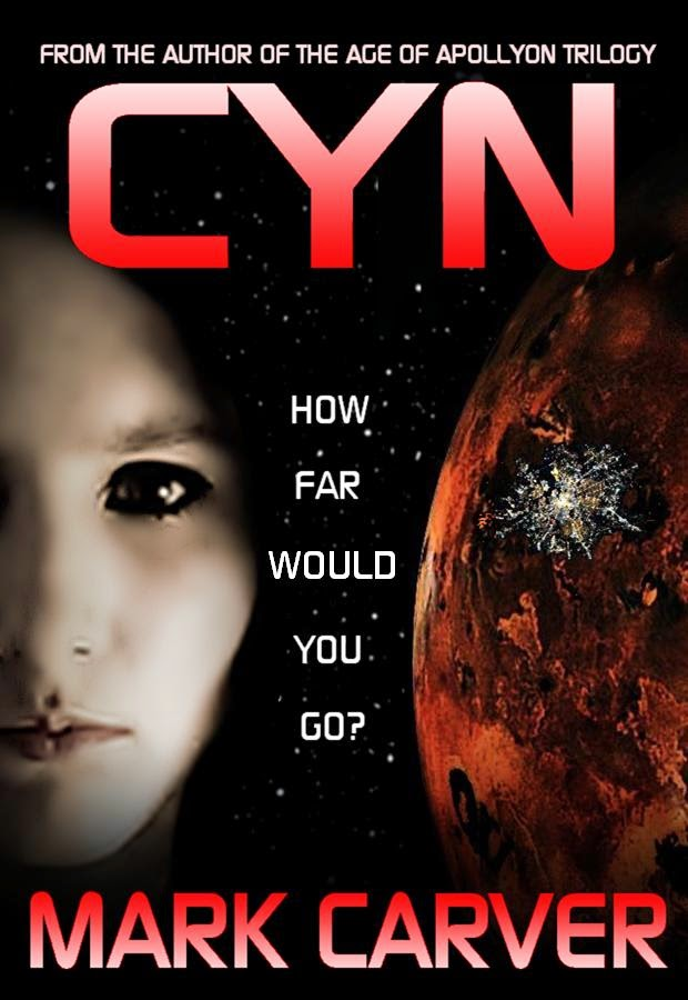 http://www.amazon.com/CYN-Mark-Carver-ebook/dp/B00O4HHBQG/ref=sr_1_1?ie=UTF8&qid=1412297207&sr=8-1&keywords=cyn+mark+carver