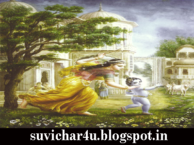 Baal Krishna ke lila ko dekh kar hum sabhi mantr mugdh ho jate hai.
