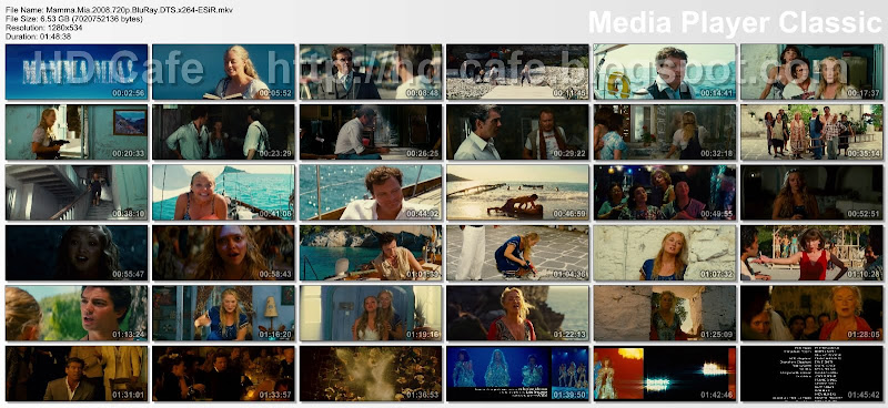 Mamma Mia 2008 video thumbnails