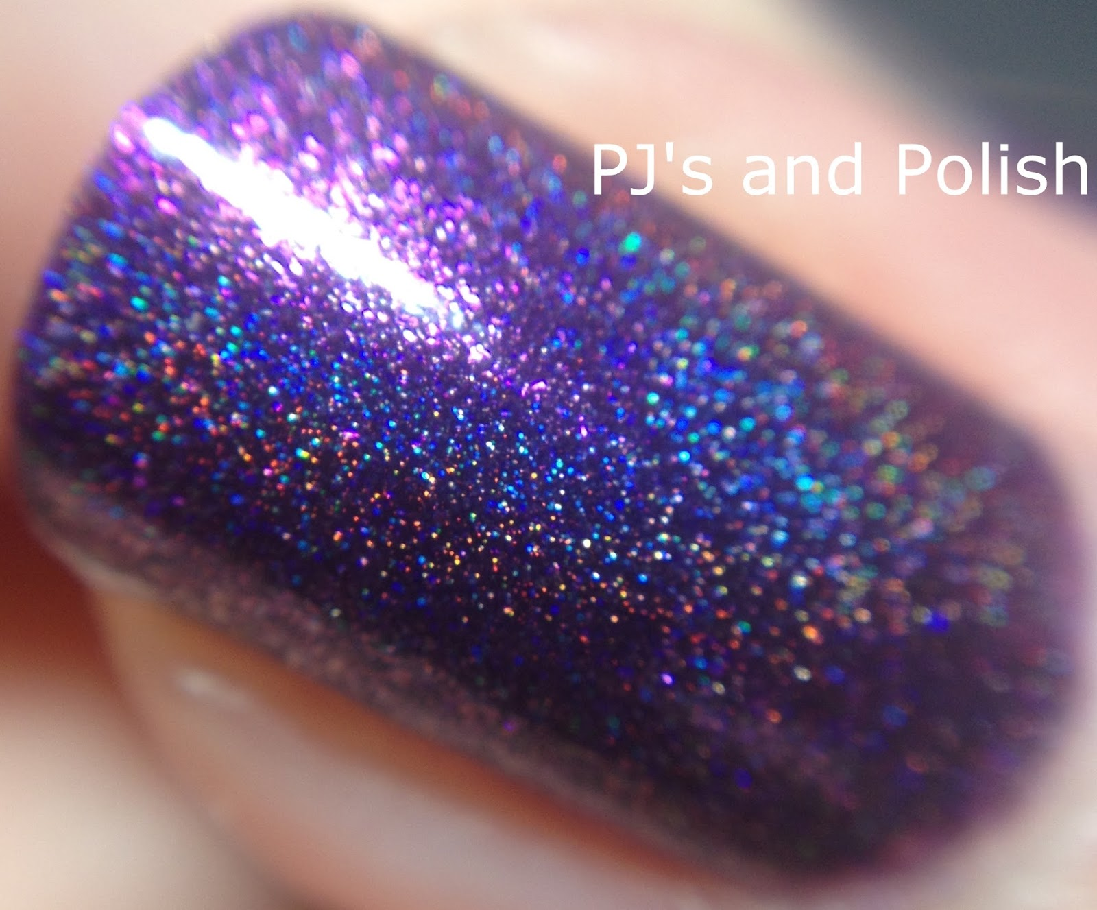 Swatch & Review LilypadLacquer Vixens Wear Violet HK Girl