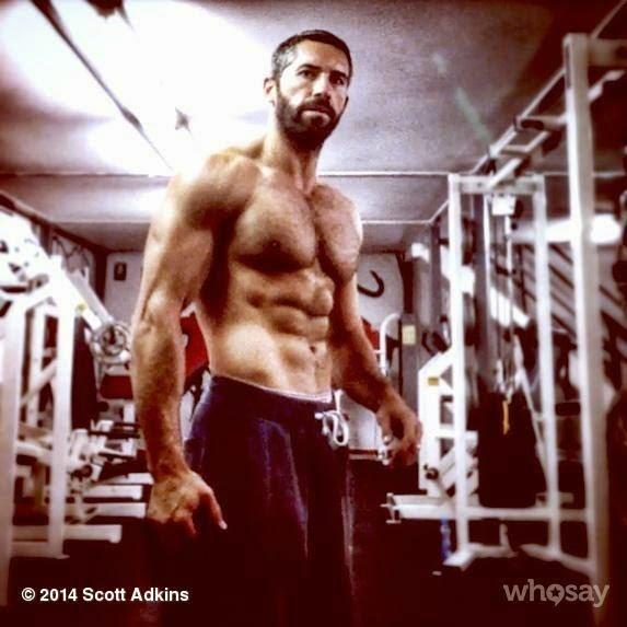 Scott Adkins in the Gym