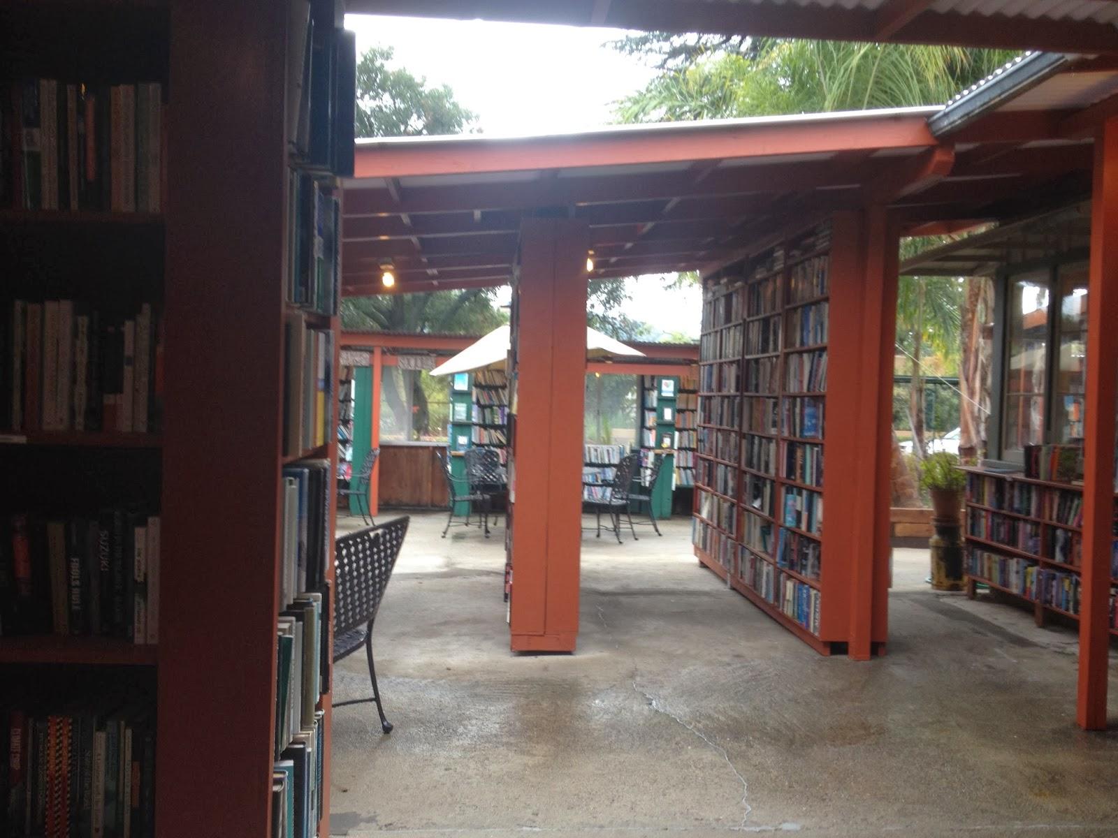 Bart's books, ojai, travel