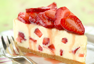 Resep Strawberry Cheese Cake