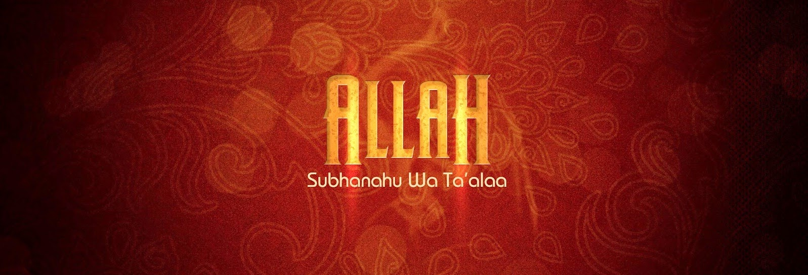 Islamic facebook cover - Facebook covers with Allah names