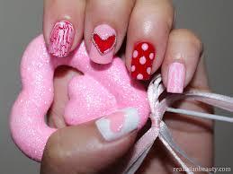 unhas e unhas Dia Dos Namorados Nails