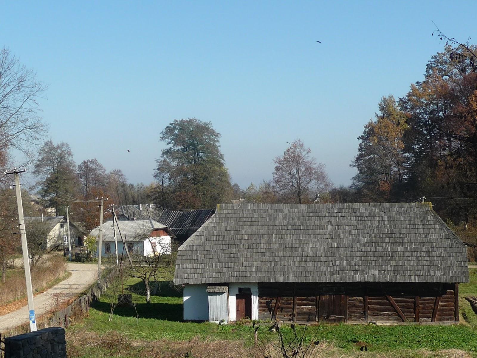 Гериня. Старі будинки