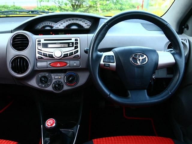 Toyota Etios Interior Car Models