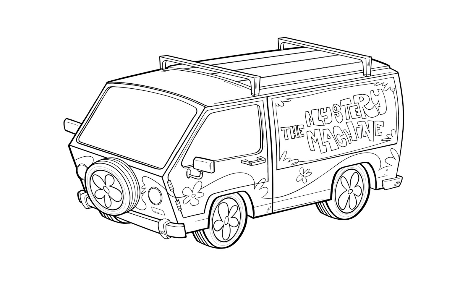 scooby doo coloring pages mystery machine virtren com