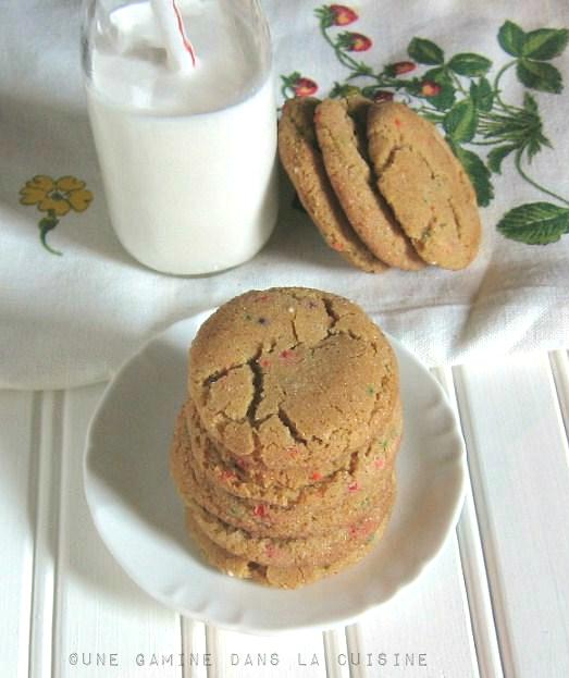Brown Butter, Funfetti Snickerdoodles | une gamine dans la cuisine