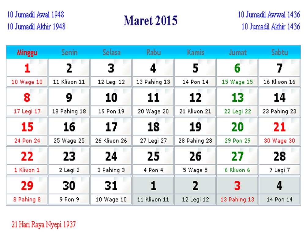 ... 800 png 230kB, Kalender Indonesia Maret 2015 | Kalender Indonesia 2017