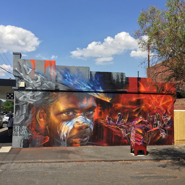 Adnate & Plea just wrapped up their latest collaboration which took place somewhere on the streets of Melbourne in Australia.